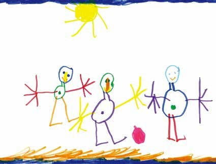 勿用。▲看懂孩子的畫中有話。(圖/聯經出版公司 提供,請勿隨意翻攝,以免侵權,下同)