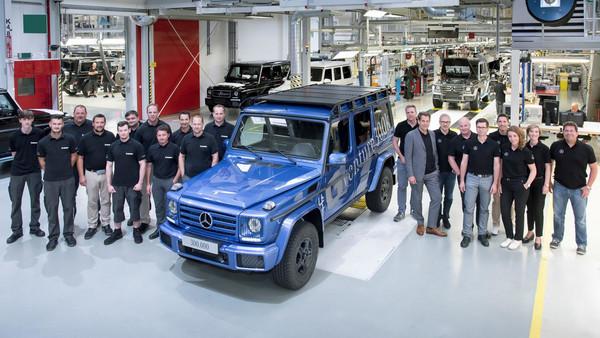 硬漢魂不滅!賓士G-Class達成30萬輛下線最新里程碑(圖/翻攝自Mercedes-Benz)