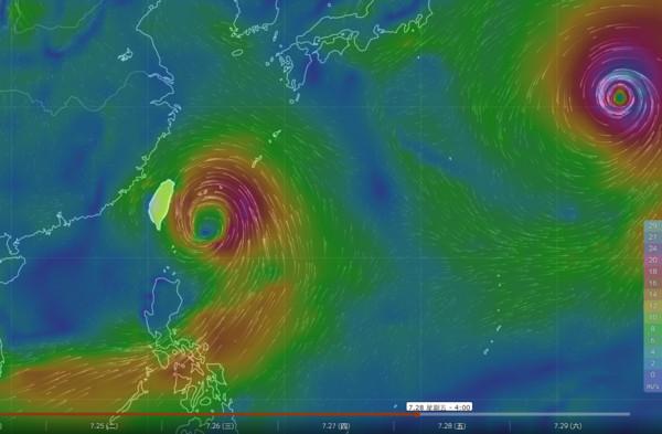 ▲▼要變天了!洛克路過…下周生颱「適合送到台灣」東部先迎雨。(圖/中央氣象局、翻攝台灣颱風論壇)