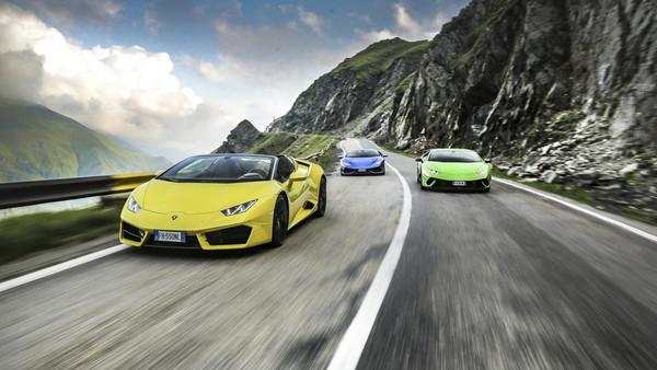限定開放三個月的私房賽道 連藍寶堅尼都難抵魅力(圖/翻攝自Lamborghini)