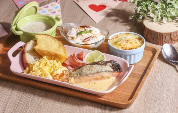 親子餐廳推現做早餐 三種肉類主餐任選 CP值超高
