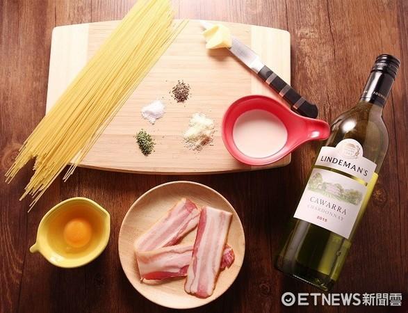 ▲奶油蛋黃培根義大利麵。(圖/Uchef提供)