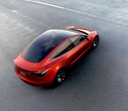 史上最便宜的電動車!特斯拉Model 3只要新台幣百萬出頭(圖/翻攝自Tesla)
