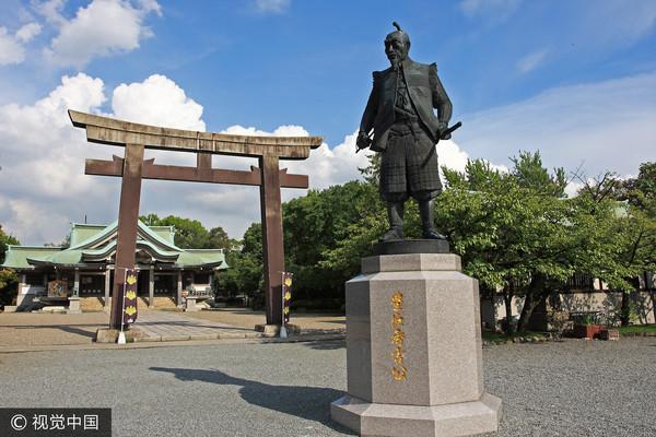 ▲▼豐臣秀吉銅像。(圖/CFP)