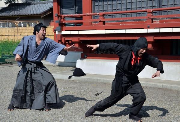 ▲▼日本忍者可以參加「甲賀流忍者檢定」,來獲得認證資格的卷軸。(圖/CFP)