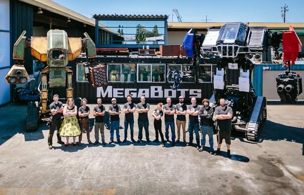 ▲日本公司水道橋重工將與美國公司MegaBots進行巨大機器人擂台戰。(圖/翻攝MegaBots臉書)