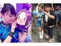 日本推特瘋傳美腿春麗 RoseMa化身人魚公主相似百分百