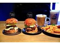 不收服務費!台北大安區工業風美式漢堡店17種口味任選