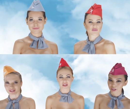 ▲▼哈薩克旅行社裸體廣告引起爭議。(圖/翻攝自YouTube Chocotravel.com)