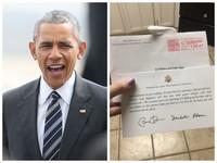 暖男無誤!歐巴馬收到婚禮喜帖 回函讓女網友放聲尖叫