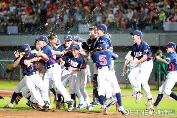 ▲美國隊獲得WBSC第四屆世界盃少棒錦標賽冠軍。(圖/市府提供)
