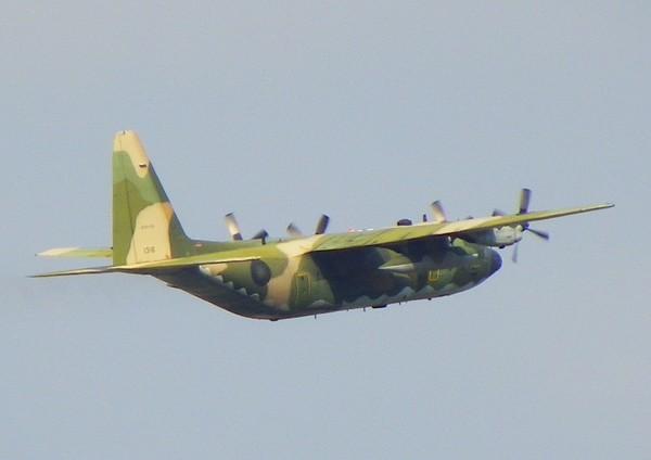 ▲空軍C-130HE電子作戰機「天干機」(圖/翻攝自維基百科)