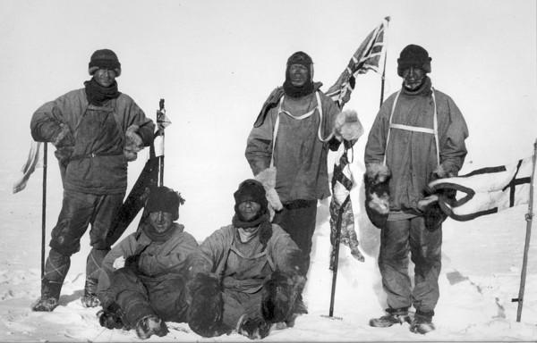 ▲▼史考特和他的極地探險團隊。(圖/翻攝自維基百科史考)