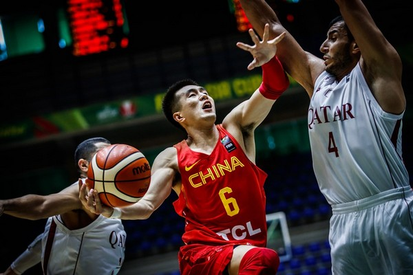 ▲亞洲盃中國男籃郭艾倫。(圖/取自FIBA官網)