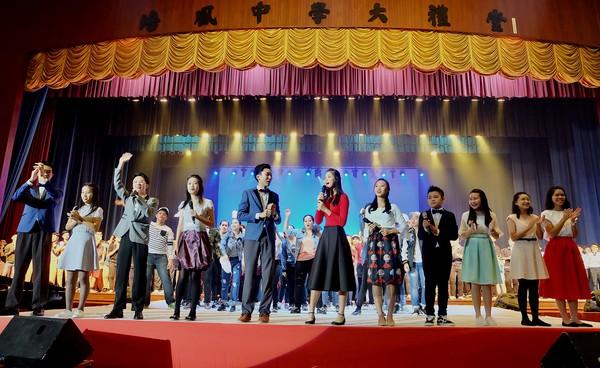 ▲▼馬來西亞培風獨立中學校慶活動 。(圖/培風中學文宣組提供)