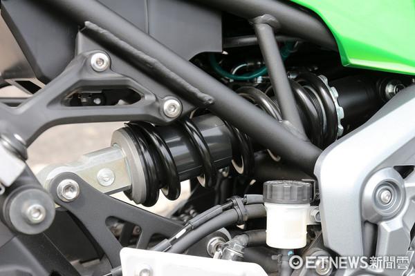 ▲Kawasaki Z900重機試駕。(圖/記者張慶輝攝)