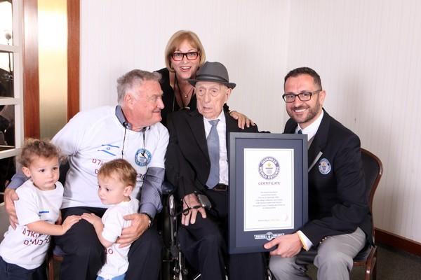▲▼克里斯塔爾(Yisrael Kristal)是全世界最長壽的男性人瑞。(圖/CFP)