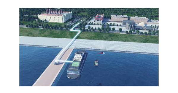 ▲▼大陸打造南海浮動核電站,用船幫礁充電。(圖/翻攝自《環球時報》)