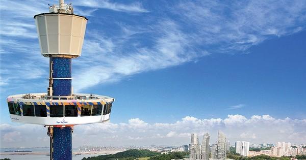 ▲▼ 新加坡渡假勝地聖淘沙的旋轉摩天塔12日晚間故障。(圖/翻攝自Sentosa官網)