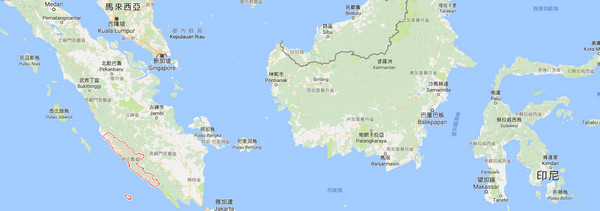 ▲蘇門答臘的明古魯發生6.5地震(圖/翻攝自Google Map)