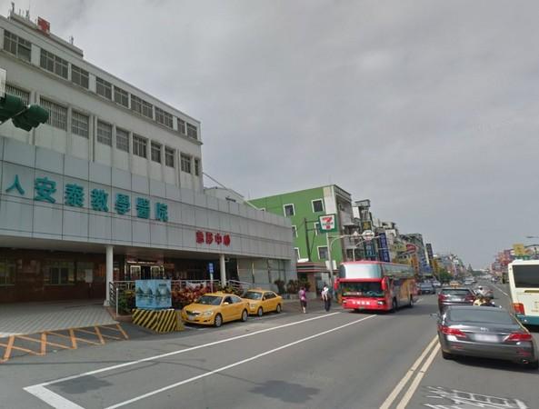 受傷潛水客被送東港安泰醫院救治,圖為醫院外觀。(圖/翻攝自Google map)