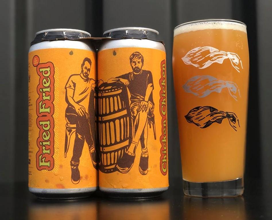 ▲美酒廠推出真正的「炸雞啤酒」(圖/翻攝自The Veil Brewing Co. Facebook)