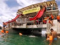 滑水道溜向湛藍大海 柬埔寨3座夢幻仙境跳島之旅