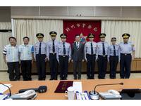 竹市警察同仁晉陞 林智堅市長親授階