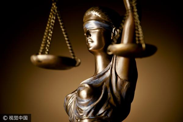 ▲正義女神,司法女神,天秤,公平。(圖/視覺中國CFP)