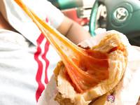 桃園超濃郁明太子牽絲「雞排」 還有隱藏版菜單!
