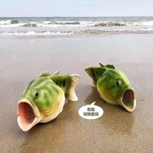 ▲鹹魚拖鞋。(圖/翻攝淘寶網)