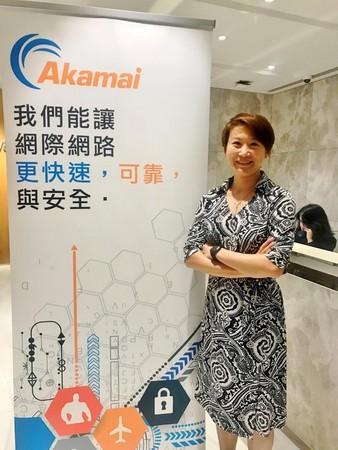 Akamai香港與台灣地區總經理張福玲(圖/業者提供)