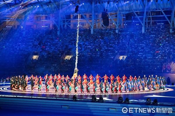 ▲▼台北世大運開幕典禮,藝文表演,活力島嶼。(圖/記者季相儒攝)