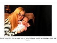 英國兩光媽早上得知懷孕 下午就生下寶寶