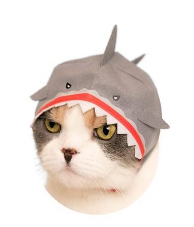鲨鱼头套手工制作