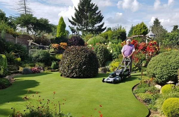 ▲▼斯土爾的花園位於英格蘭南約克郡。(圖/翻攝自Stuart Grindle Open Garden臉書)