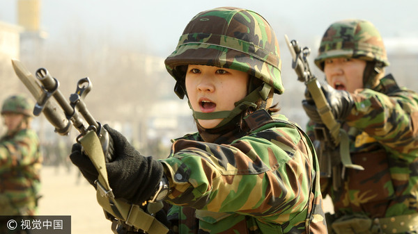 ▲▼南韓女兵,女性,當兵(圖/CFP)