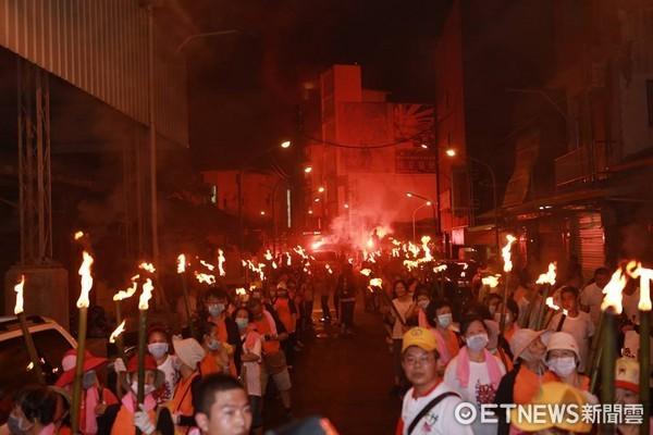 新竹都城隍廟,竹塹中元城隍祭,查夜暗訪。(圖/新竹都城隍廟提供)