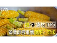 營養師推薦「護眼食材TOP5」!滿滿葉黃素...冠軍是菠菜