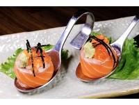 生魚片丼1天賣10份!奢華「一口吃」海膽鮭魚捲只要90元