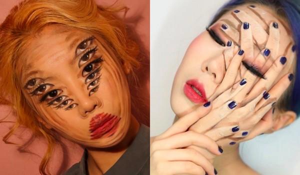 ▲南韓藝術家Dain Yoon做人頭指甲彩繪(圖/翻攝自designdain Instagram)