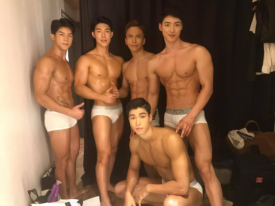 ▲南韓2017選美先生參賽者。(圖/翻攝自Mister International Korea Pageant)