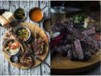 肉食主義的柴燒天堂!台北美式燒烤丁骨牛排、戰斧豬排