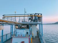 搭船才能到!澎湖季節限定海上招待所 晚霞星空下嘗海味晚餐