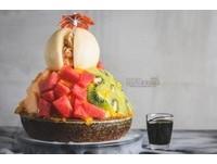 高雄創意冰店季節限定 用整顆「水蜜桃」做成的雪花冰