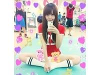 台大碩士萌妹Mio有腦又有胸 神似水蜜桃姊姊爆紅