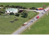 紐西蘭熱氣球起火墜地 11人罹難