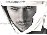 傳說中帥到被驅逐出境的阿拉伯男模奧瑪(Omar Borkan Al Gala)。(圖/取自奧瑪臉書)