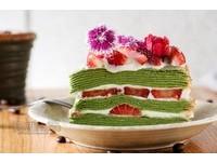 少女心噴發!高雄花系列手作千層蛋糕 每日推出不同口味