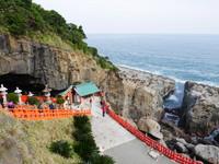 海之崖、岩之洞藏神社!全日唯一「洗錢」祈福在宮崎